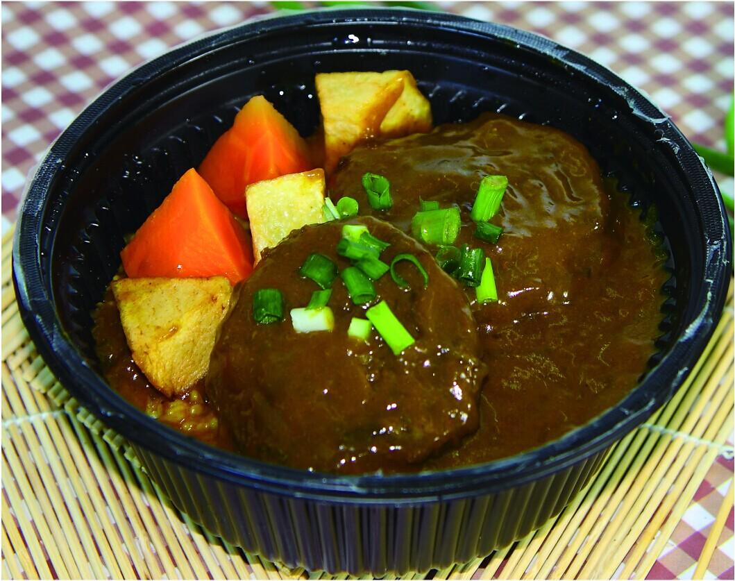 日式咖喱牛肉汉堡�S